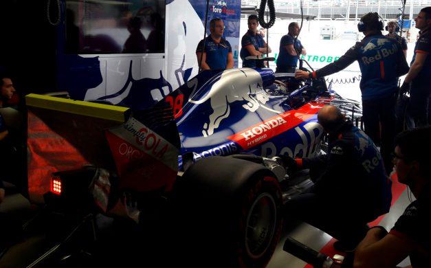 Gi Group e Toro Rosso juntas em Interlagos