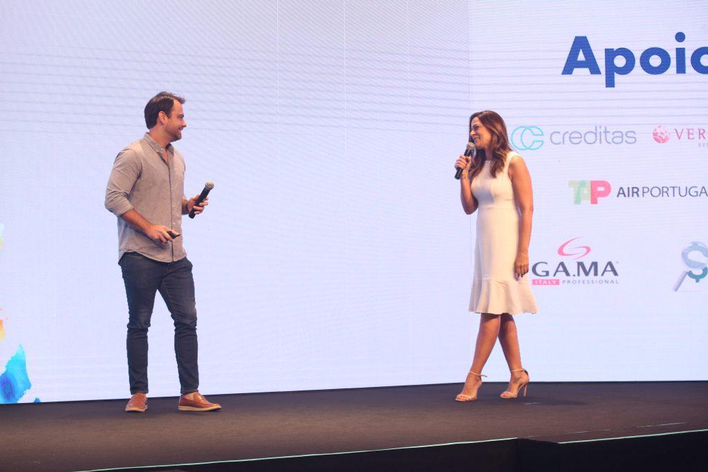 Fabio Nogueira, diretor da Wyser, e Ana Britto, diretora da Gi Temp&Perm